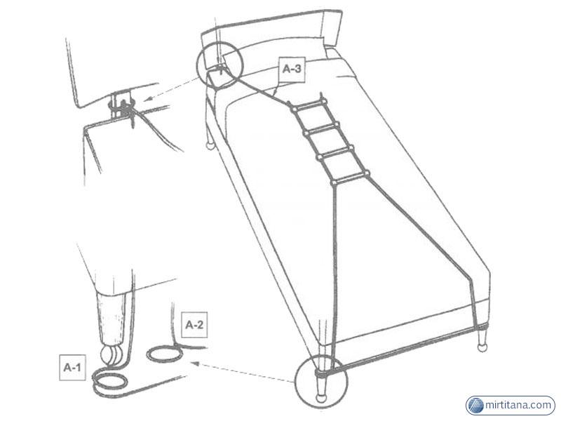 Приспособление для поднятия лежачих больных